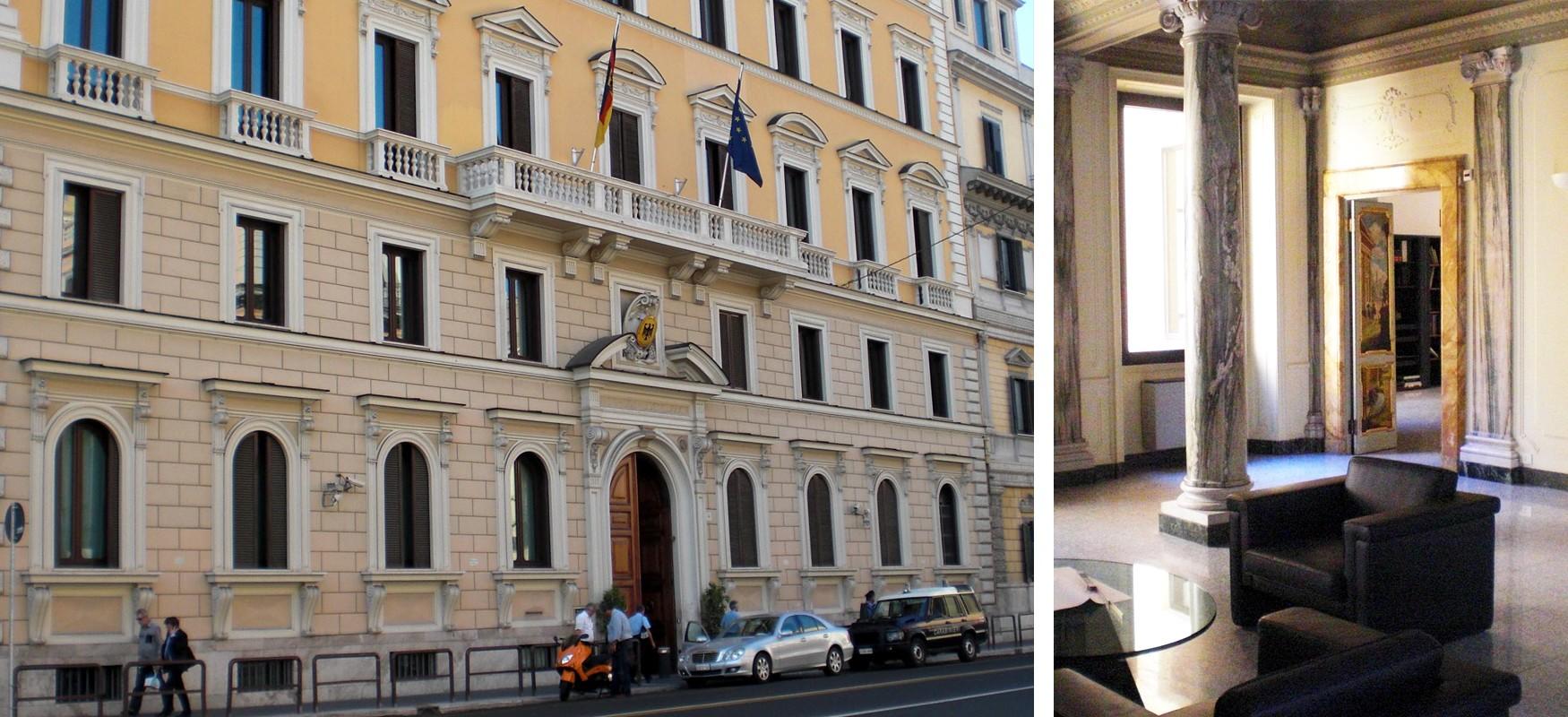 Brandschutzplanung bei der Deutschen Botschaft in Rom vom Ingenieurbüro Pabst und Partner Ingenieure