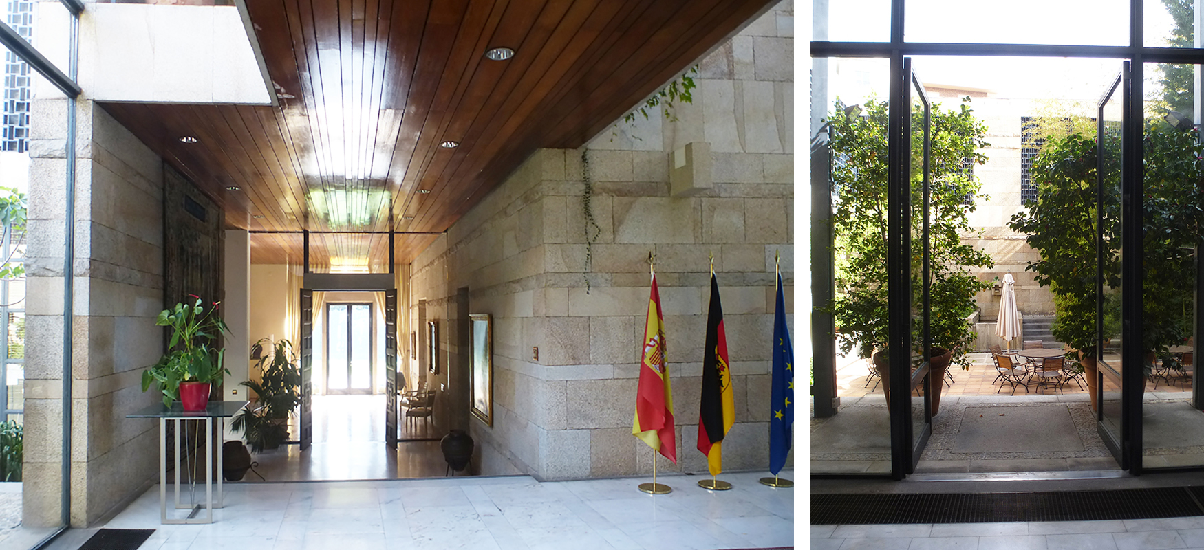 Brandschutzplanung in der Residenz der Deutsche Botschaft in Madrid vom Ingenieurbüro Pabst und Partner Ingenieure